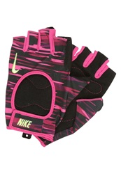 Nike Performance Gloves Vivid Pink Black Volt