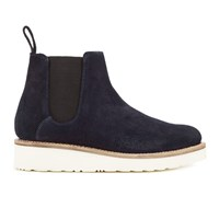 Grenson Women's Lydia Suede Chelsea Boots Navy