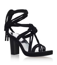 Isabel Marant Miana Rope Tie Sandals Female Black