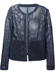 Drome Perforated Jacket Blue