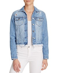 Nobody Heirloom Denim Jacket In Momento