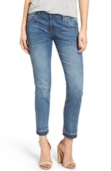 William Rast Women's 'Tomboy' Distressed Crop Jeans