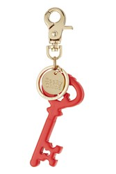 See By Chloe Logo Charm Keychain Red