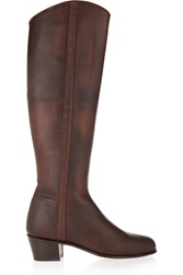 Penelope Chilvers Cubana Leather Boots Brown