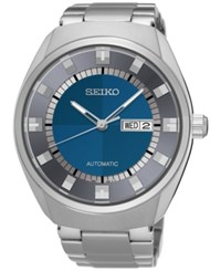 Seiko Men's Automatic Recraft Series Stainless Steel Bracelet Watch 44Mm Snkn73 No Color