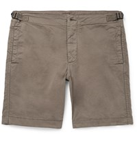 Albam Cotton Shorts Green