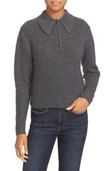Frame Women's Reversible Wool And Cashmere Sweater Flannel