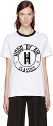 Hood By Air White Cookie Ringer T Shirt