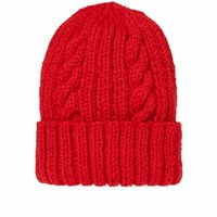 Inverallan Aran Hat Red