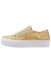 Sixty Seven Sixtyseven Trainers Oro Blanco Gold