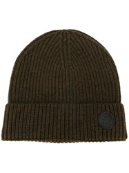 Dsquared2 Canadian Emblem Beanie Green