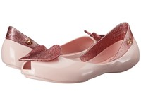 Vivienne Westwood Anglomania Melissa Queen Little Kid Big Kid Pale Pink Pink Glitter Women's Shoes