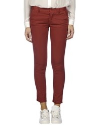 .. Merci Trousers Casual Trousers Women Maroon