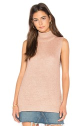 Obey Covert Sweater Turtleneck Pink