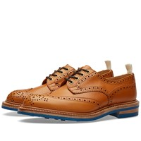 Trickers End. X Tricker's Club Sole Bourton Brogue Brown
