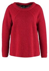 Kookai Jumper Cerise Dark Red