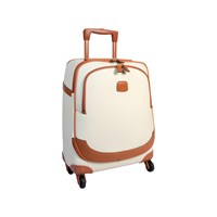 Bric's Bojola Carry On Trolley Suitcase Cream