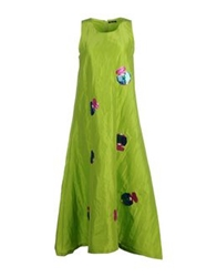 Odi Et Amo Long Dresses Acid Green