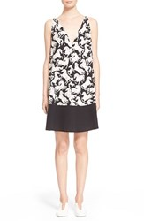 Women's Stella Mccartney Horse Print Silk Shift Dress