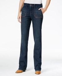 Styleandco. Style Co. Studded Blue Shadow Wash Bootcut Jeans Only At Macy's