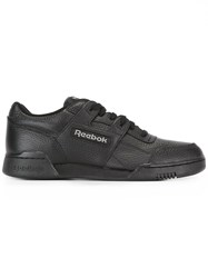 Gosha Rubchinskiy Reebok Workout Low Sneakers Black