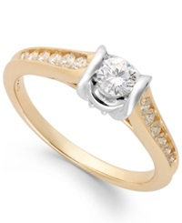 Sirena Diamond Engagement Ring In 14K Gold 1 2 Ct. T.W.