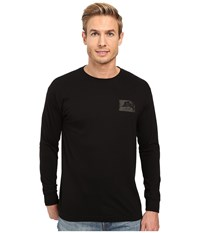 O'neill Sailfish Long Sleeve Screen Tee Black Men's T Shirt