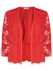 Studio 8 Montana Lace Jacket Red