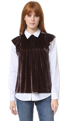 Ulla Johnson Golde Top Mulberry