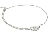 Alex And Ani Precious Ii Collection Lotus Peace Petals Adjustable Bracelet Sterling Silver Finish Bracelet