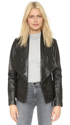 Soia And Kyo Nerissa Leather Jacket Black