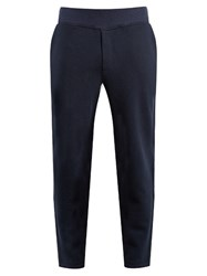 A.P.C. Cotton Blend Track Pants Navy