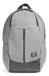 Wesc Men's Leon Premium Backpack Metallic Grey Melange