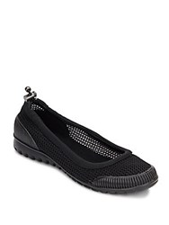 Kenneth Cole Reaction Water Slip On Flats Black