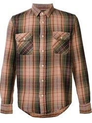 Levi's Vintage Clothing Plaid Shirt Green