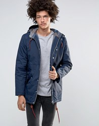 Minimum Shelton Hooded Parka In Navy Navy