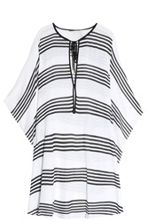 Vix Swimwear Striped Kaftan