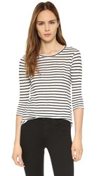 Bb Dakota Neva Stripe Tee Black