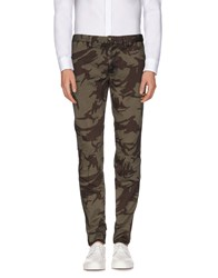Blauer Trousers Casual Trousers Men Military Green