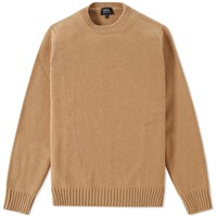 A.P.C. Shortbread Crew Knit Neutrals