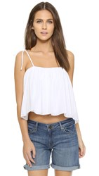 Elizabeth And James Taura Top White