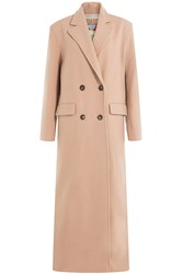 Emilio Pucci Virgin Wool Coat With Cashmere Camel