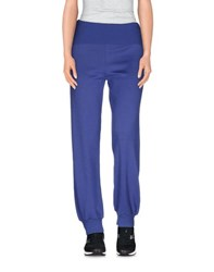 Scaglione Trousers Casual Trousers Women Purple