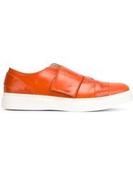 Achilles Ion Gabriel Velcro Strap Sneakers Yellow And Orange