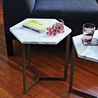Hex Side Table West Elm