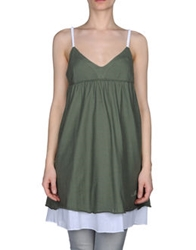 Met Tops Military Green