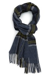 Barbour Men's Slaley Check Wool Scarf