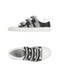 Les Hommes Footwear Low Tops And Trainers Men White