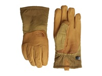 The North Face Men's Denali Se Leather Glove Dachshund Brown Extreme Cold Weather Gloves Yellow