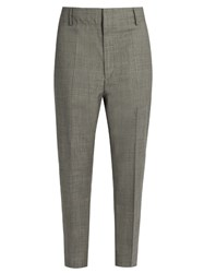 Etoile Isabel Marant Noah Wool Trousers Light Grey
